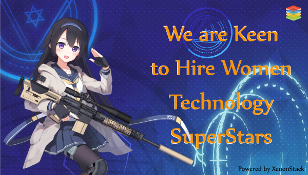 Hiring Womein in Technology